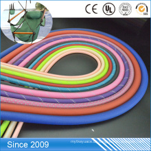 Transparentes PVC beschichtetes buntes Polyester-Seil des kundenspezifischen Entwurfs für Hundeleinenseil