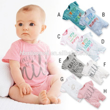 2016 new design short sleeve summber baby romper hot sell korean style baby knitted romper with short sleeve