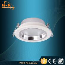 Dispositivo elétrico de iluminação de venda quente loja LED fundição conjunta Downlight