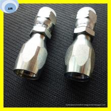 Raccord de tuyau femelle réutilisable pour tuyau SAE 100 R5