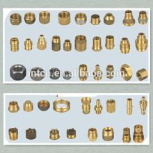 Feito à fabricação mecânica de peças de metal do cnc