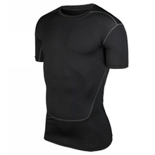 Hot Sale Men Training Compression T-shirt