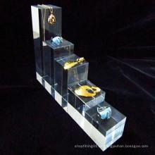 3 Stück Quadrat Acryl Würfel Set Matt / Acryl Banner für Schmuck