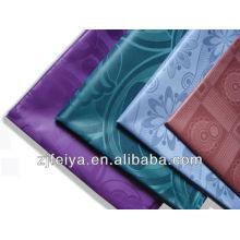 Tecido africano de brocado da Guiné, tecido de pano nigeriano, tecido de Razão Bazin africano ocidental
