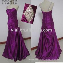 PP2476 nova chegada vestido de noiva com renda grátis 2011