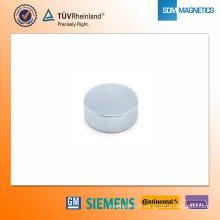Aimant de néodyme plaqué par zinc de D25 * 10mm N42