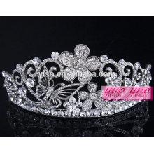 Vente chaude vente en gros robe de mariage robe ornements tiara