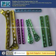 Custom hot sale high precision anodised aluminium parts