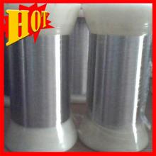 Fornecimento de fio de titânio ASTM B863 0,1 mm para malha