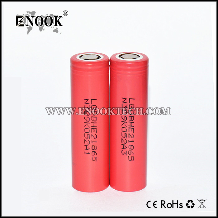 LG HE2 Battery Rechargeable 2500mAh 20A factory price
