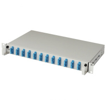 High performance 12 port fiber patch panel