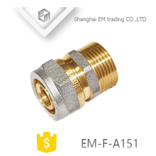 EM-F-A151 Equal straight brass galvanized aluminum fitting pipe