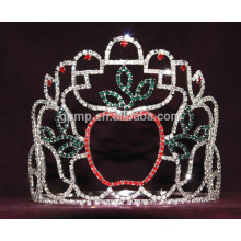 holiday apple tiara