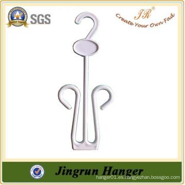 Proveedor experimentado personalizable Simple Plastic Shoe Hanger