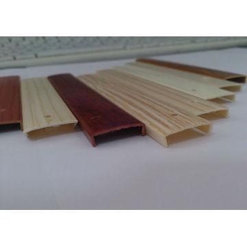 Borda de borda do PVC do plástico 2mm da mobília