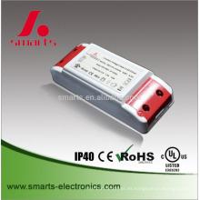 plástico de alta calidad 12v 12w 1a led ac a la fuente de alimentación de cc