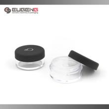 Loose powder jar with matte color