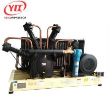 Máquina de moldeo por soplado de mascotas de alta presión 40 bar pet oil oil free ingersollrand compresor de aire Booster 350CFM 580PSI 40HP