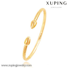 51429- Xuping Hot Sale 18K Gold Plated Cuff Bangle from Wholesale Supplier