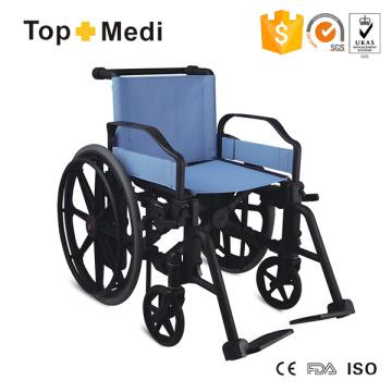 Silla de ruedas manual Topmedi Purely Plastic