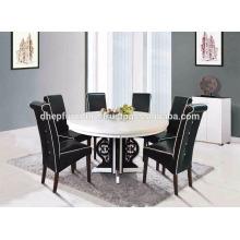 Set de salle à manger, meubles de salle à manger, ensemble de salle à manger en marbre