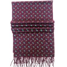 2017 custom-made men 100% pure cashmere pashmina printed shawl