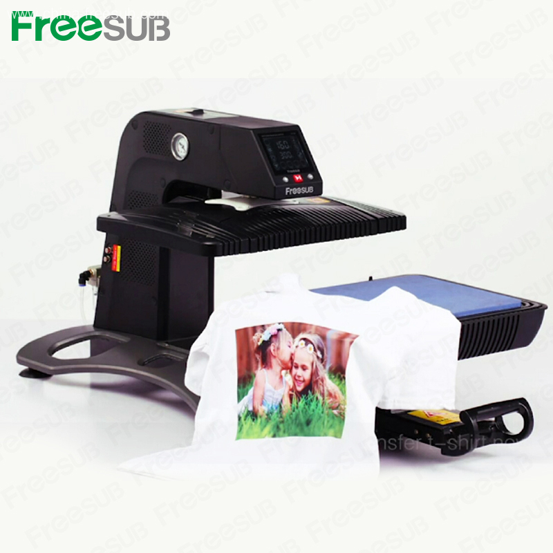 China freesub 3d sublimation wholesale heat press transfer for T shirt manufacturing machine in india