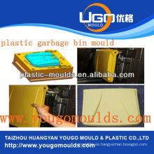 Molde de la cesta de la inyección de los moldes de la cesta del supermercado plástico en taizhou zhejiang China