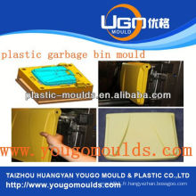Moule de panier en plastique de supermarché moule de panier d'injection dans taizhou Zhejiang Chine