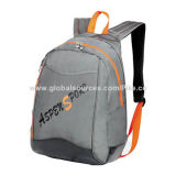Daypack, Made of 600D/PVC Polyester with Large Main Compartment