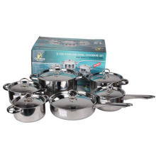 Set de utensilios de cocina de acero inoxidable 12 PCS