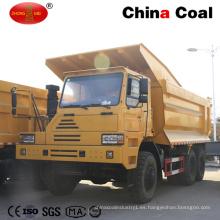 Minería HOWO 70 toneladas de camiones de carga pesada