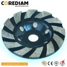 Roda de moedura do turbocompressor do sedimento de 115mm para a pedra