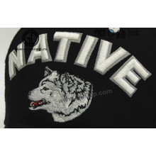 Fashion Animals Wolf Custom 3D Embroidery Patch for Clothing & Cap