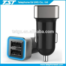 The selling best 2 port USB Car Charger for smart phone/iphone