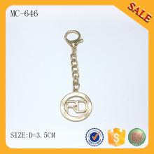 MC646 Machen Sie Ihre eigene Logo Metall Schlüsselanhänger
