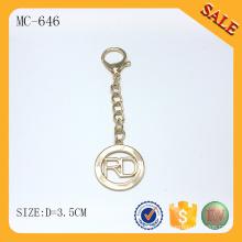 MC646 Создайте собственную цепочку брелок для ключей с логотипом