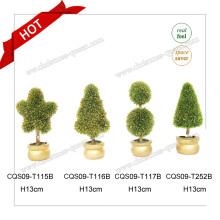 Plantas artificiales plásticas 10-18cm para el resorte