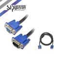 SIPU high quality vga cable vga 3+6 male to female