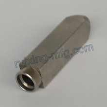 Custom Made CNC Machining Stainless Steel Square Coupling