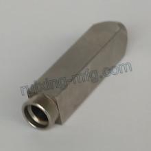 Custom Made CNC de usinagem de aço inoxidável Square Coupling