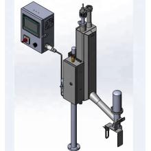 Liquid nitrogen injection equipment for aluminum cans
