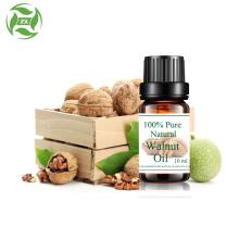 Huile de noix naturelle pure à 100% de qualité alimentaire non diluée