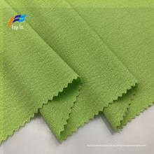 Tejido de ropa PD teñido crepé de lana 100% poliéster