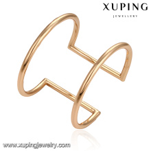 51603 Xuping Jewelry simple fashion without stone cuff bangle