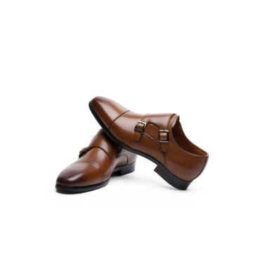 Zapato de vestir con hebilla para hombre