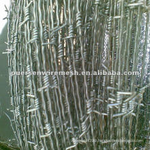 12 gauge Galvanized Barbed Wire(manufacturer in Anping)