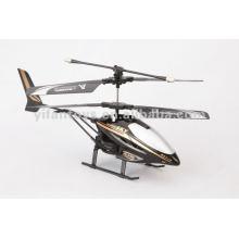 HX713 2 CH metal control remoto Drone Juguetes Helicóptero de aleación RC con luces