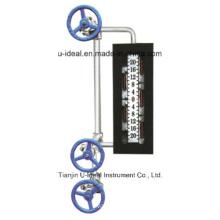 Double Window-Sight Glass Flow Indicators