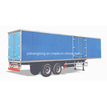 Two Axle 30 Ton Carriage Semi-Trailer